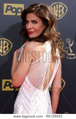 LOS ANGELES - APR 26:  Kristian Alfonso at the 2015 Daytime Emmy Awards at the Warner Brothers Studio Lot on April 26, 2015 in Burbank, CA
