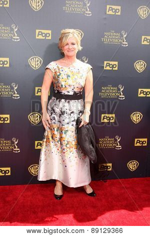 LOS ANGELES - APR 26:  Mary Beth Evans at the 2015 Daytime Emmy Awards at the Warner Brothers Studio Lot on April 26, 2015 in Burbank, CA