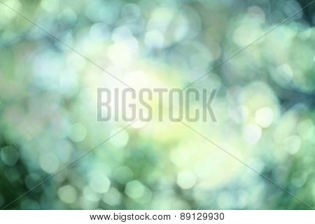 Abstract natural backgrounds with bokeh