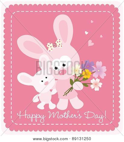 Happy Mother's Day bunnies