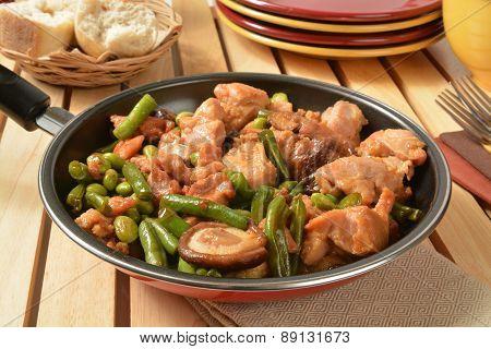 Shitake Mushroom Chicken