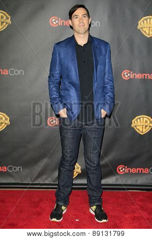LAS VEGAS - APR 21:  Brad Peyton at the Warner Brothers 2015 Presentation at Cinemacon at the Caesars Palace on April 21, 2015 in Las Vegas, CA