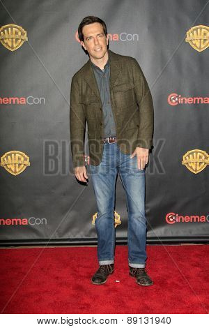 LAS VEGAS - APR 21:  Ed Helms at the Warner Brothers 2015 Presentation at Cinemacon at the Caesars Palace on April 21, 2015 in Las Vegas, CA