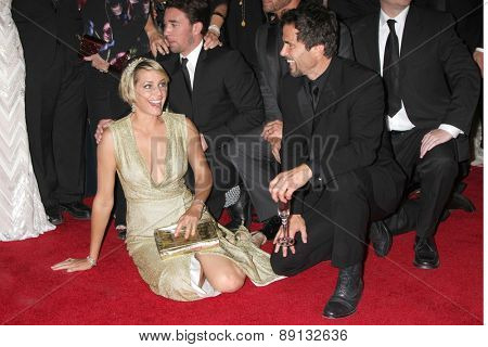 LOS ANGELES - APR 26:  Arianne Zucker, Shawn Christian at the 2015 Daytime Emmy Awards at the Warner Brothers Studio Lot on April 26, 2015 in Los Angeles, CA