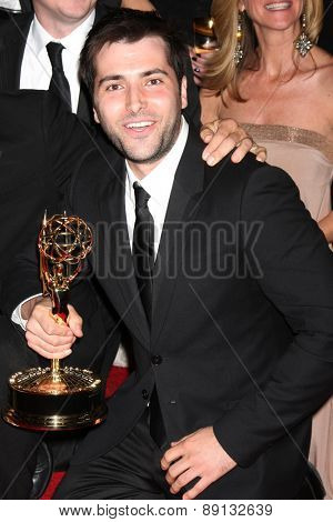LOS ANGELES - APR 26:  Freddie Smith at the 2015 Daytime Emmy Awards at the Warner Brothers Studio Lot on April 26, 2015 in Los Angeles, CA