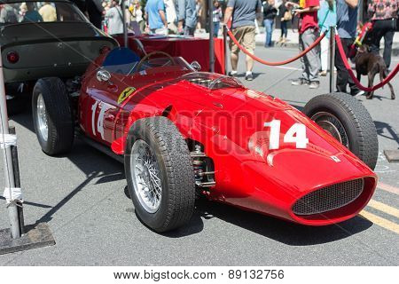 Ferrari 735 S Car On Display