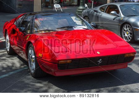 Ferrari 308  Car On Display