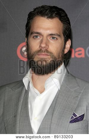 LAS VEGAS - APR 21:  Henry Cavill at the Warner Brothers 2015 Presentation at Cinemacon at the Caesars Palace on April 21, 2015 in Las Vegas, CA