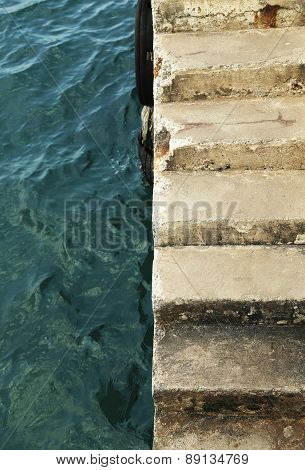 Between Sea And Stair