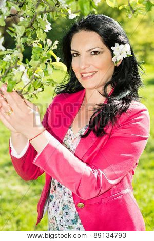 Beauty Spring Woman