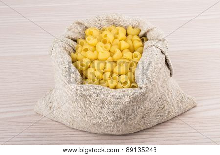 Pasta In Bag Of Coarse Cloth