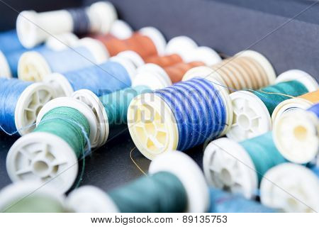 Sewing Thread Background.