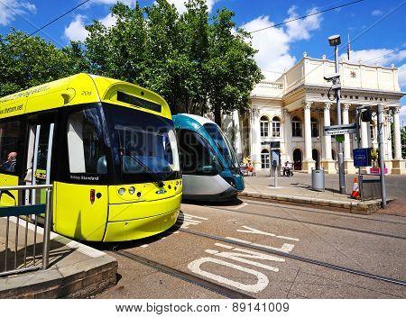Modern Trams, Nottingham.