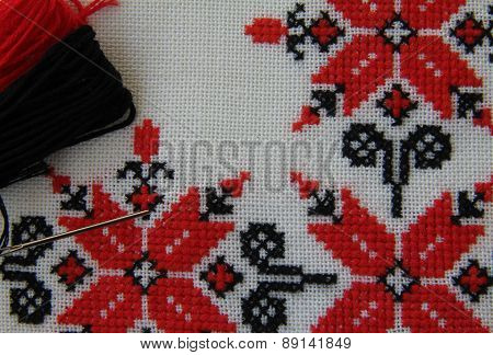 Embroidered Cloth Ornaments
