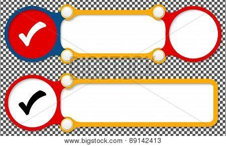 Vector Abstract Frames