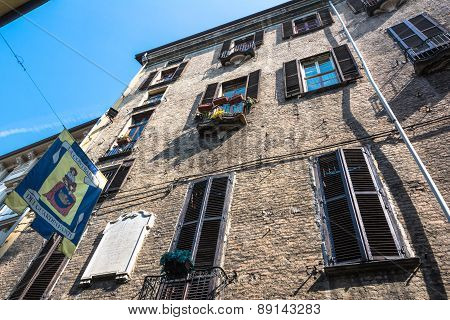 House in the Old Town in Turin