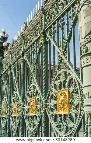 The Palazzo Reale railing, Turin