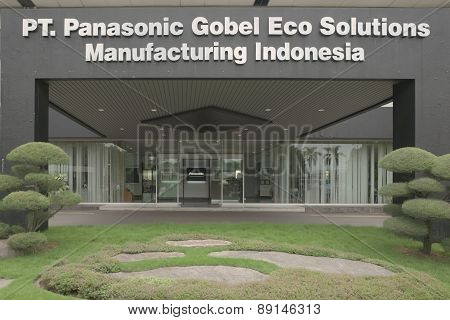 PT. Panasonic Gobel Eco Solutions Manufacturing plant