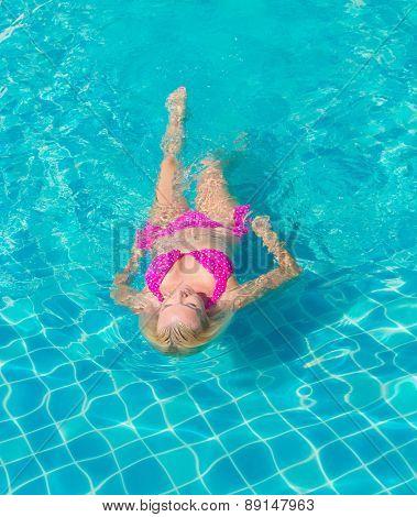 In Water Graceful Relaxing