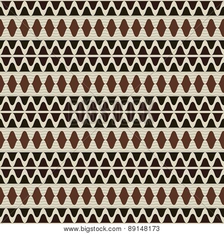 Beautiful Seamless Pattern In Country Style