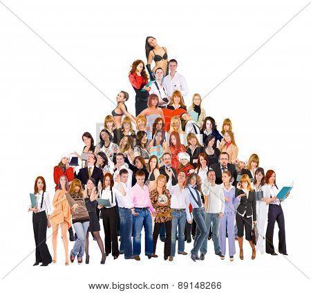 Workforce Concept Teamwork Achievement