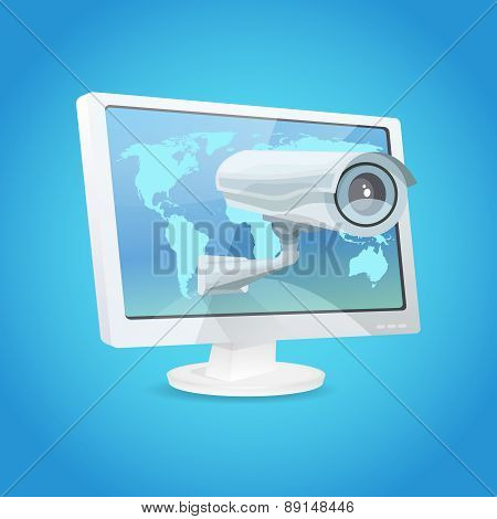 Surveillance Camera And Monitor