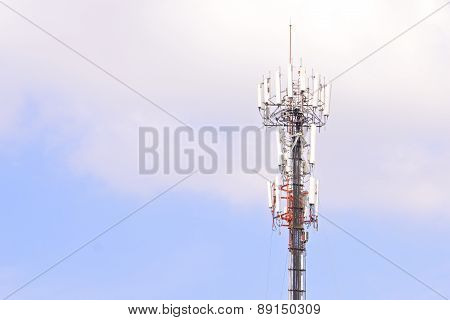 Antenna Cellular Mobile Phone Tower