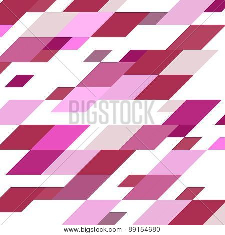 Abstract Geometric Vintage Vector Background.