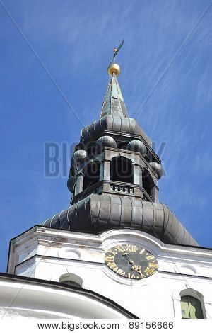 The Dome Cathedral In Tallinn.