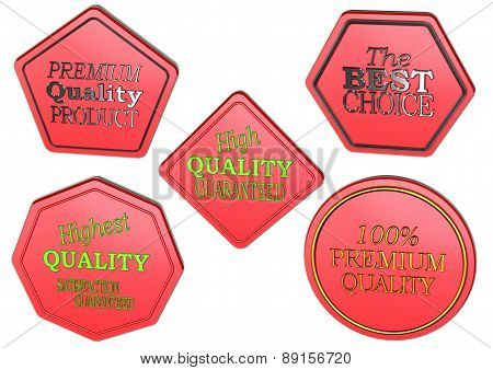Set of Sale product badges.