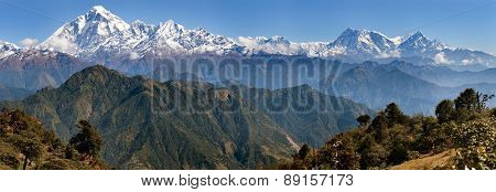 Dhaulagiri And Annapurna Himal