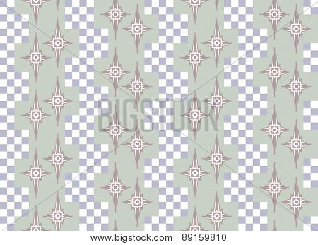 Abstract Seamless Beautiful Pattern In Nice Muted Colors