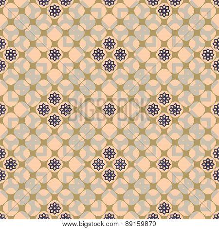 Delicate Elegant Floral Seamless Pattern