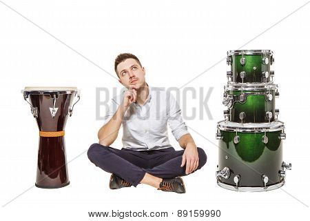 Djembe And Drums