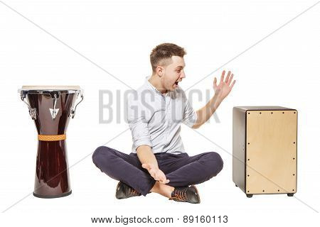 Man Chose Cajon