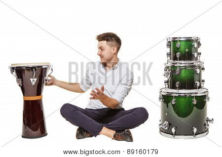Opting For Djembe
