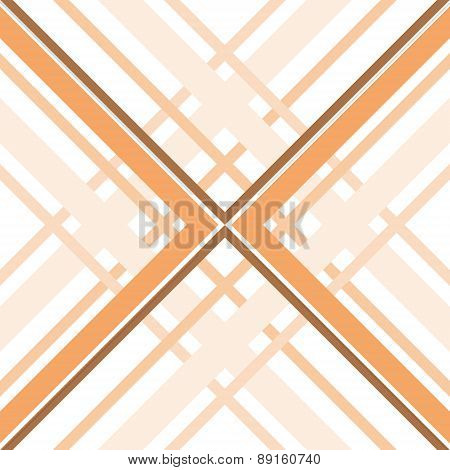 Abstract Geometric Seamless Pattern Of Intersecting Bands