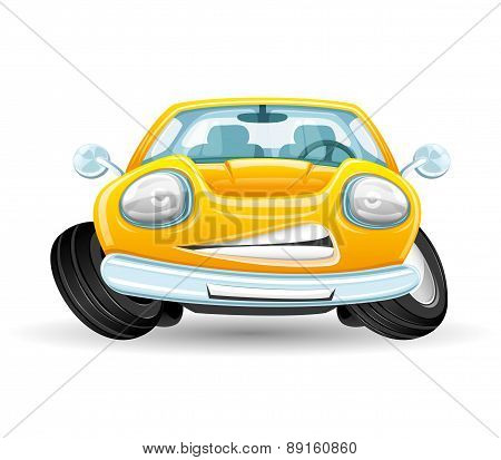 Vector illustration. Car.