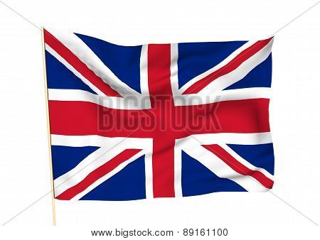 Image of a flag of UK