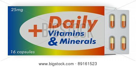 Vitamin And Minerals Capsules