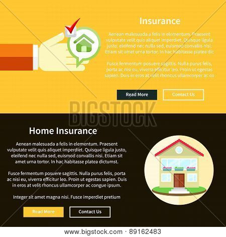 House Insurance Concept
