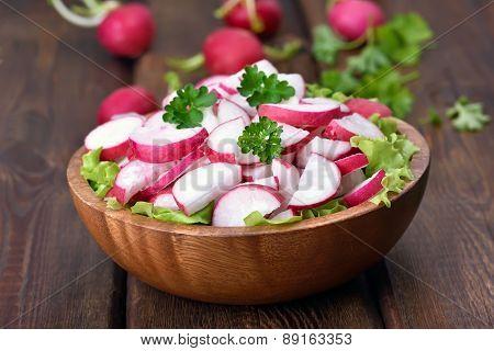 Spring Salad With Fresh Radish