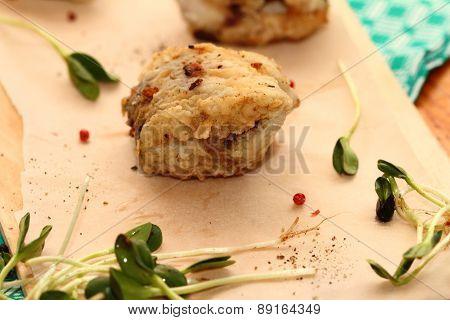 Fried Pollock