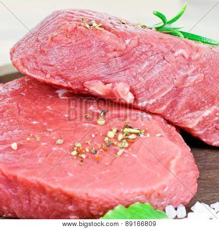 rare steaks