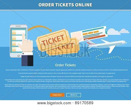 Order Tickets Online