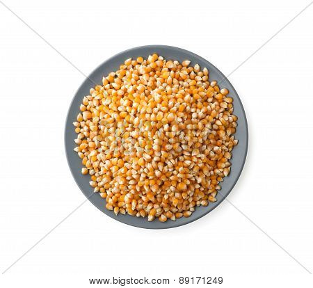 Corn Beans Heap On Plate