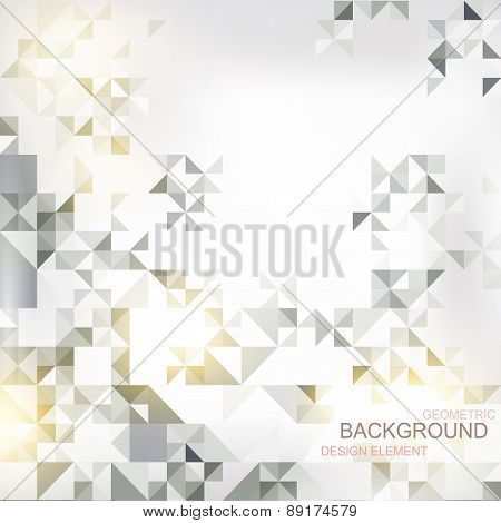 abstract background with elements of geometric figures