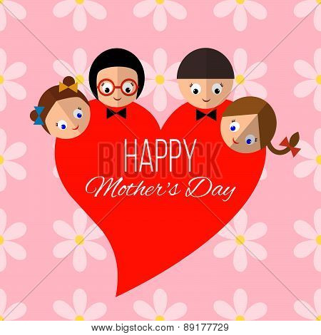 Card For 12Th May For Happy Mothers Day Celebration.