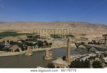 Hasankeyf Village In Batman,Turkey