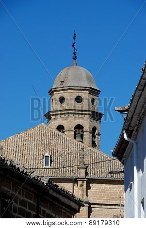 Baeza Cathedral bell tower.